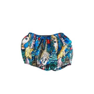 Pepe&Nika PepeandNika Wolf&Rita Baby Baggy Bloomers vernal summery frühlingshaft sommerlich print Muster extravagant patterned funky Castelbajac colorful farbenfroh playful verspielt casual bunt Francisca Dans la Foret