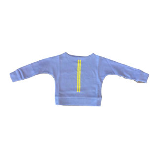 Pepe&Nika PepeandNika Wovenplay Little Apparel Kids Fashion girls Striped Sweater lilac yellow autumnal casual cool fairtrade fair-trade handmade organic print Lilac Lemon Tee