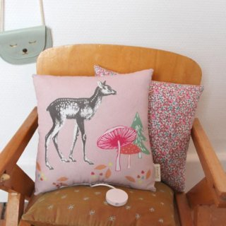 Pepe&Nika PepeandNika Kids Fashion Little Apparel Kindermode BARNABÉ AIME LE CAFÉ France Frankreich Musical Girls Pillow Cushion Musik Kissen Mädchen rosa print romantic romantisch cute mädchenhaft verspielt playful