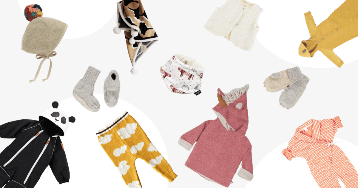 11 Great Eco Baby Fashion Pieces For Wintertime