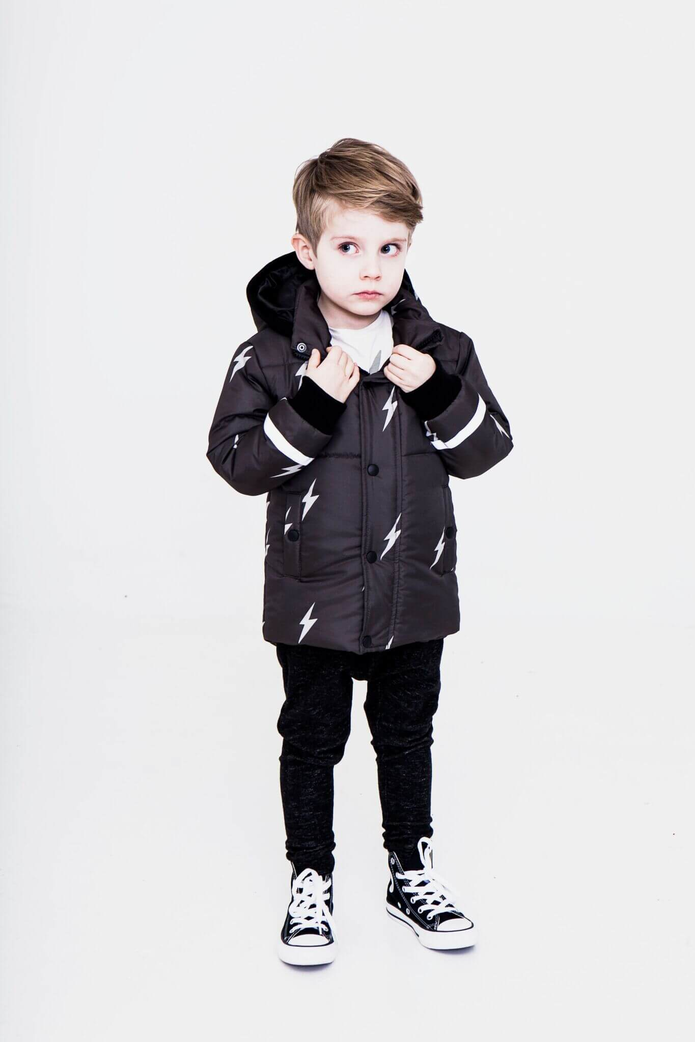 Pepe and Nika presents iglo-indi Autumn Winter Collection 2017 2018 rock and roll