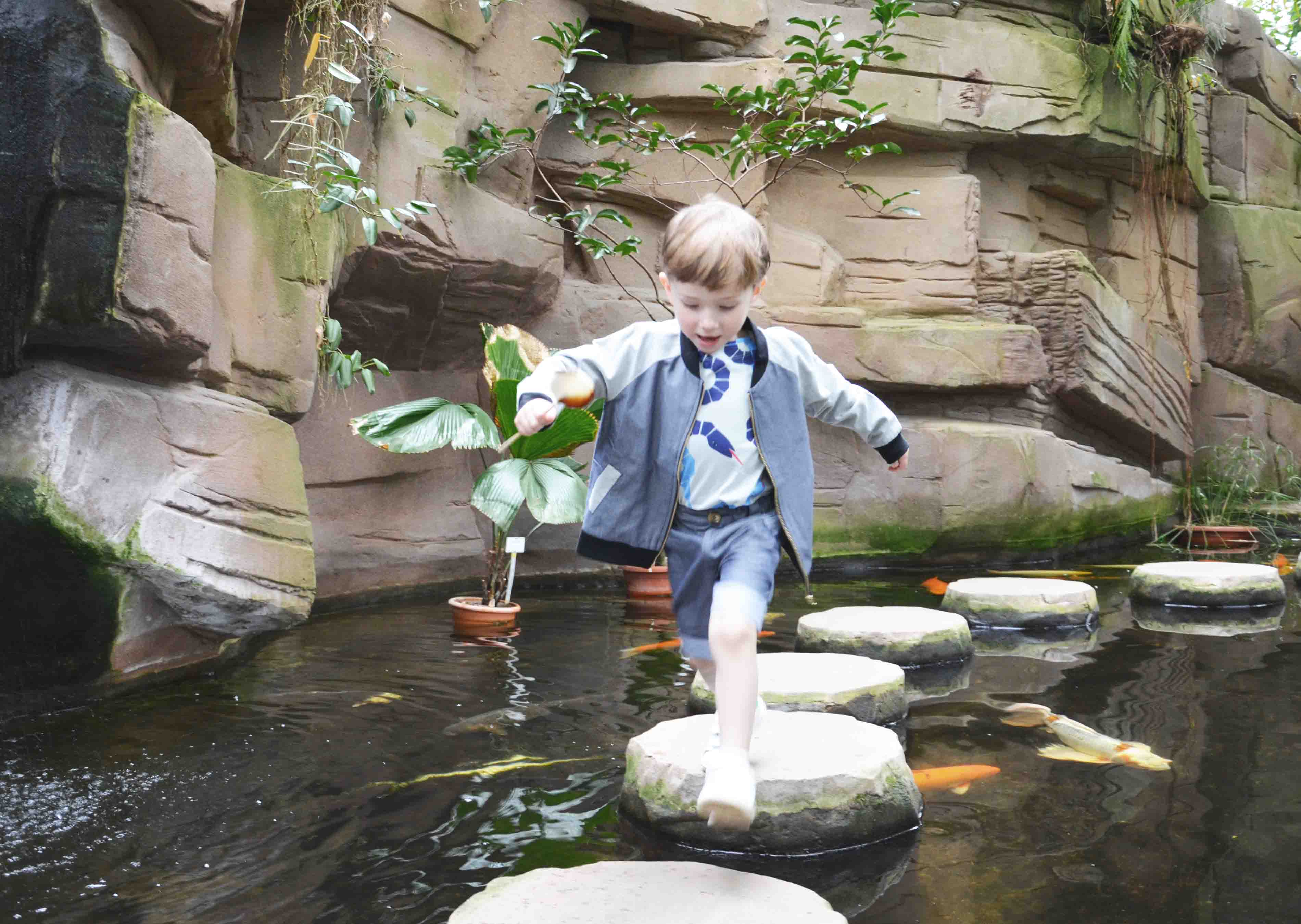 pepe and nika love at botanical garden with summer clothes by lovekidswear