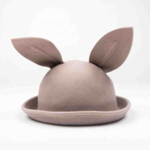 Beige Bunny Hat - Mini Dressing for carnival costumes