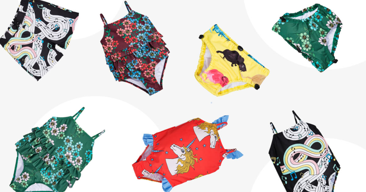 Kids Swimwear by Mini Rodini – Saving The Oceans, One Designer Piece at a Time