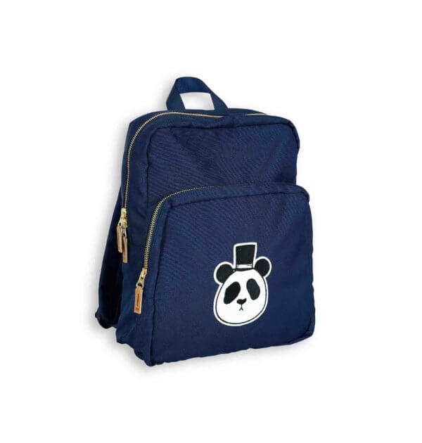 pepeandnika mini rodini kidsfashion brand from sweden panda bag dark blue for girls and boys casual school