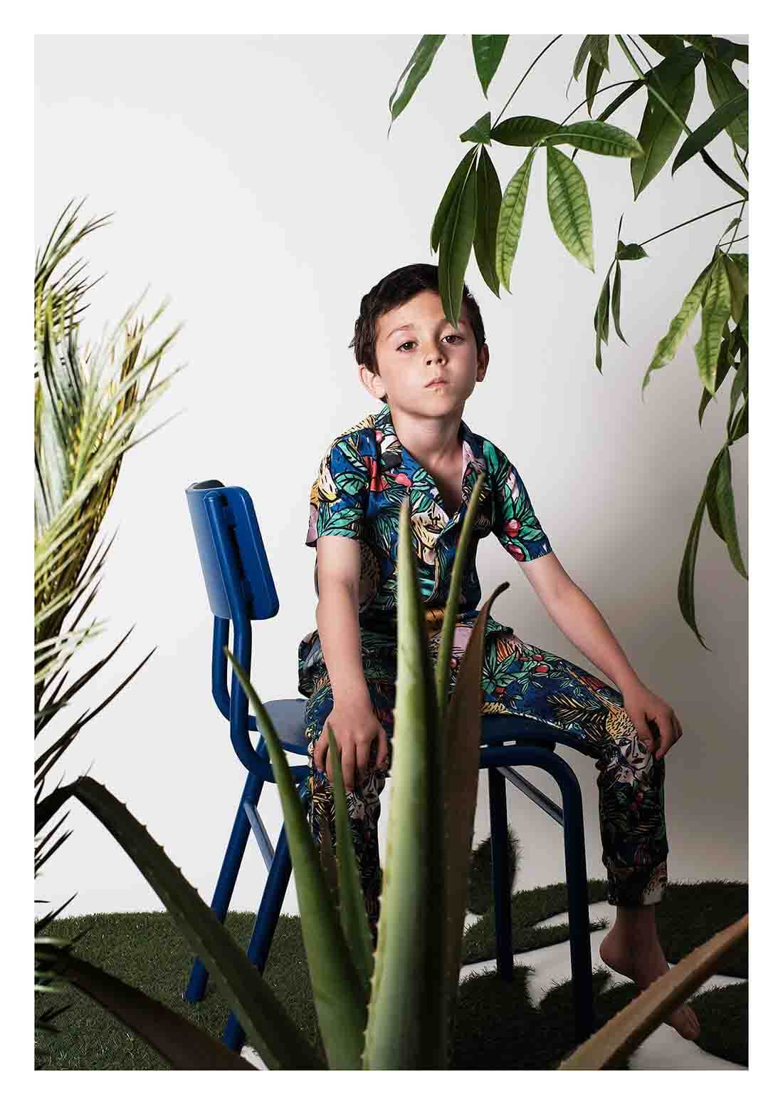 SS17 Wolf&Rita Dschungle Set Boys