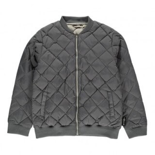 Pepe&Nika PepeandNika Kids Fashion Little Apparel Quilted Jacket grey Quilted Teddy Grey autumnal casual chic cool
