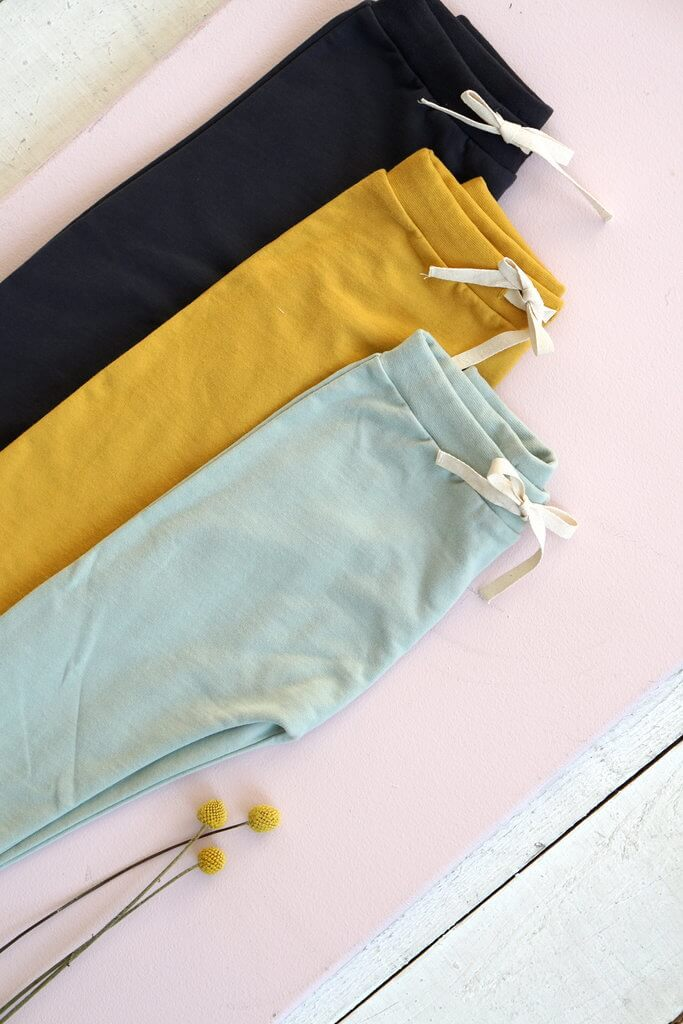Orbasics organic kids clothes Oh-so easy pants